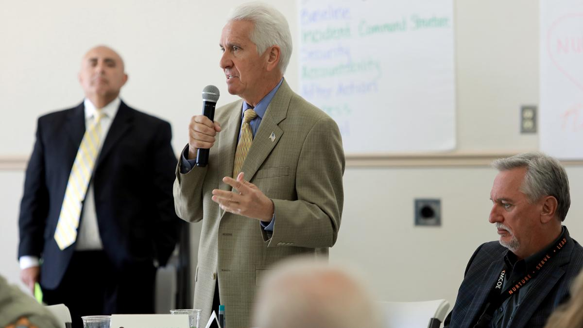 MCOE, Congressman Costa Host School Safety Summit