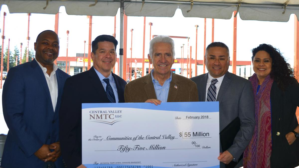 Costa and Central Valley NMTC Announce $55 Million for San Joaquin Valley Investment