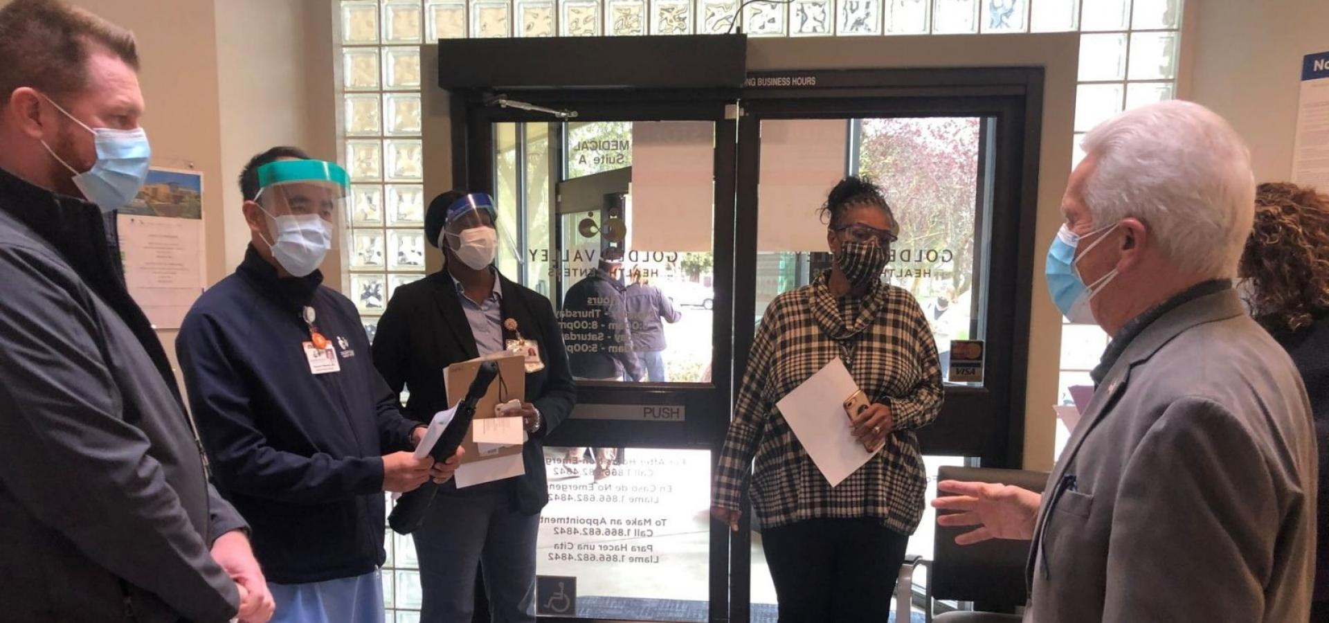 Protecting Valley Healthcare workers