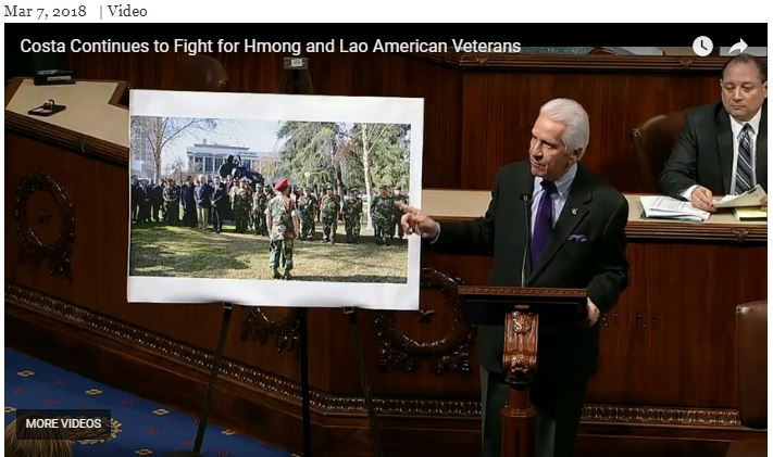 Costa Continues to Fight for Hmong and Lao American Veterans